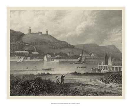 Scenic City Views II by W. Wellstood art print