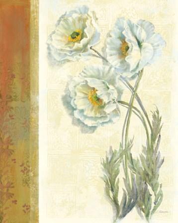 Poppy Trio by Carol Rowan art print