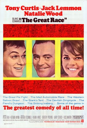 The Great Race movie poster art print