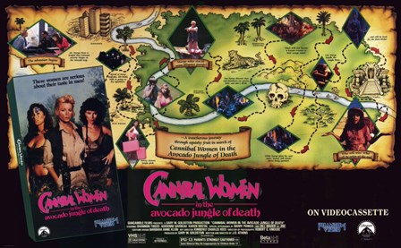 Cannibal Women art print