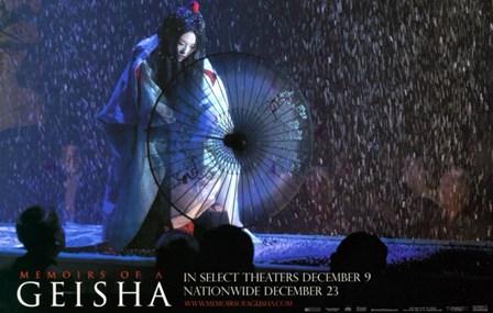 Memoirs of a Geisha - woman with an umbrella art print