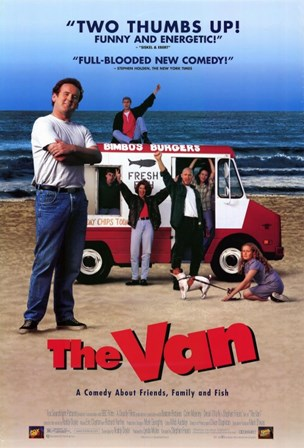 The Van (movie poster) art print