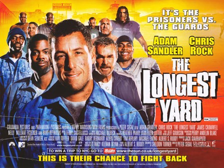The Longest Yard Sandler and Chris Rock art print