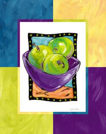 Apples by Joyce Shelton art print