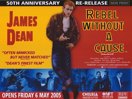 Rebel Without a Cause Challenging of Today's Teenage Violence art print