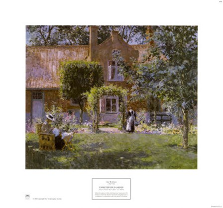 Unpretentious Garden by Gari Melchers art print