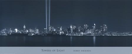 Tower of Light I by Jerry Driendl art print