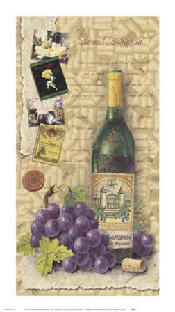 Cabernet Sauvignon by Sagamore Studio art print