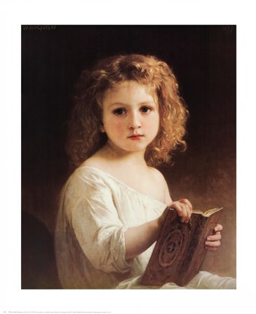 Painting by William Adolphe Bouguereau