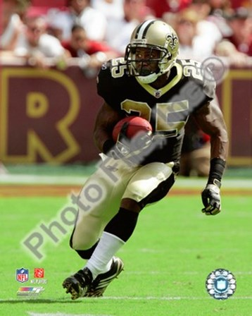 Reggie Bush 2008 Action art print