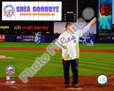 Tom Seaver Final Game at Shea Stadium 2008 art print