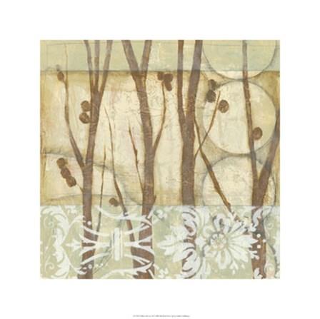 Willow and Lace III by Jennifer Goldberger art print