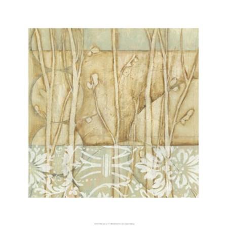 Willow and Lace IV by Jennifer Goldberger art print