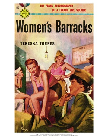 Women's Barracks art print