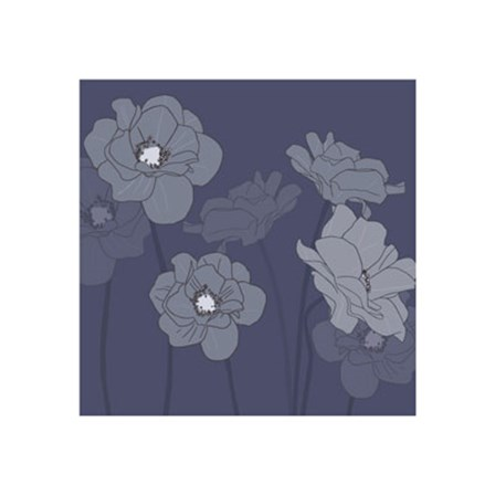 Poppies by Kate Knight art print