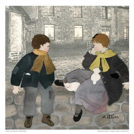 Soir d'automne by Diane Ethier art print