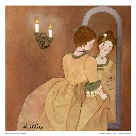 Clemence by Diane Ethier art print