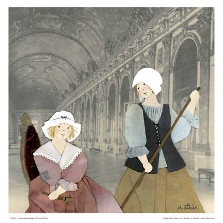 Les indispensables by Diane Ethier art print