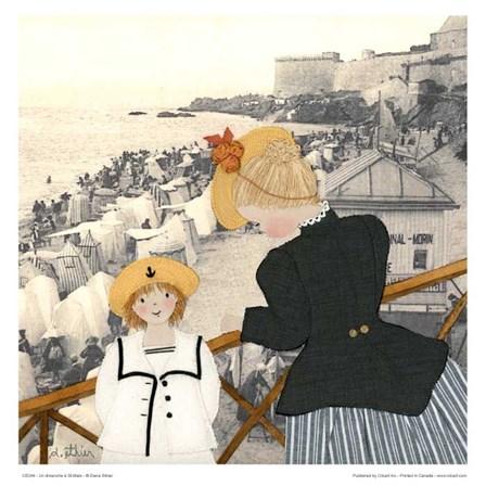 Un dimanche a St-Malo by Diane Ethier art print