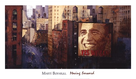 Moving Forward by Marti Bofarull art print