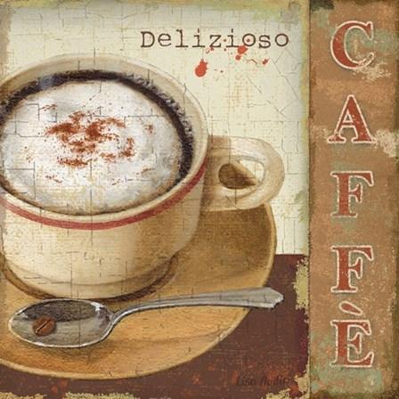Coffee Lovers II by Lisa Audit art print