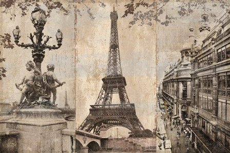Paris I by Pela and silverman art print