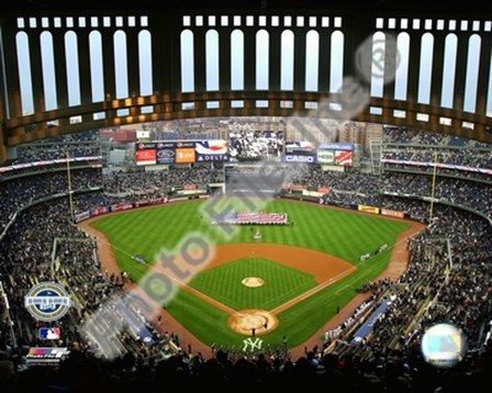 Yankee Stadium 2009 Interior art print
