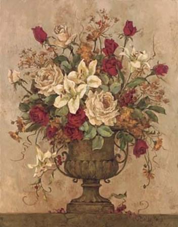 Floral Reflections I by Barbara Mock art print