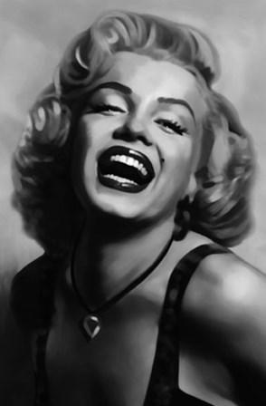Marilyn Monroe by Tom Croft art print