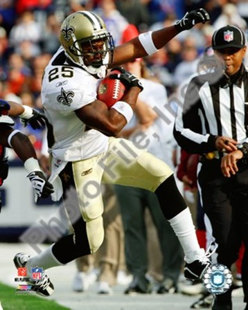 Reggie Bush football 2009 art print