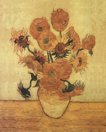 Buy Van Gogh Sunflowers print