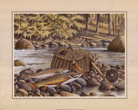 Fresh Catch by Ron Jenkins art print