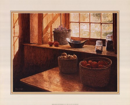 Baskets Of Vegetables by Michael Davidoff art print