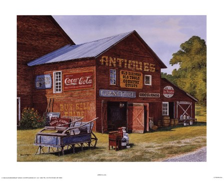 Odds and Ends by Michael Davidoff art print