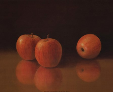 Apples Still Life by T.C. Chiu art print