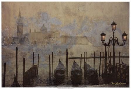 Dawn & the Gondolas II by Terry Lawrence art print