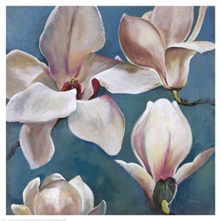 New Magnolias II by Georgie art print