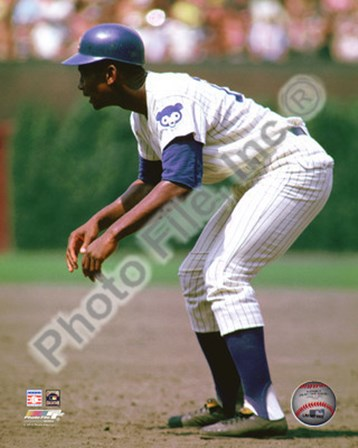 Ernie Banks 1969 Action art print