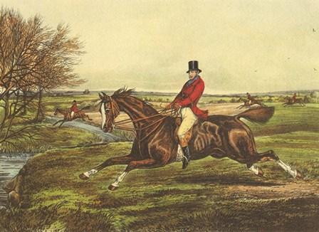 The English Hunt II by Henry Alken art print
