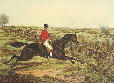 The English Hunt III by Henry Alken art print