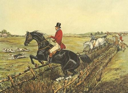 The English Hunt IV by Henry Alken art print