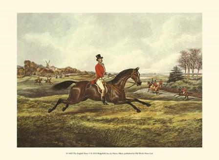 The English Hunt V by Henry Alken art print