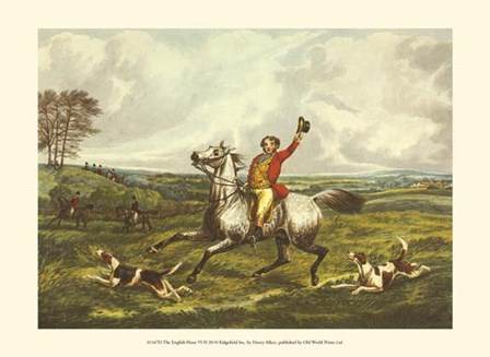 The English Hunt VI by Henry Alken art print