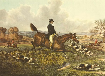The English Hunt VII by Henry Alken art print
