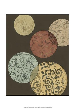 Custom Pattern Composition II (ST) by Megan Meagher art print