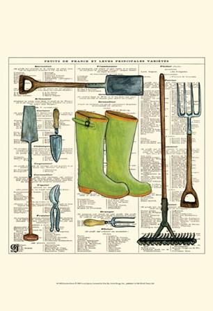 Garden Boots by Ginny Joyner art print
