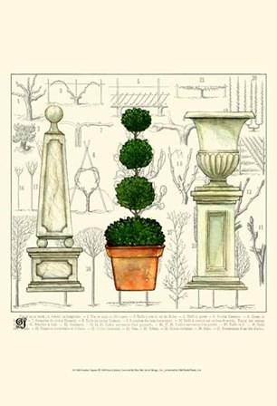 Garden Topiary by Ginny Joyner art print