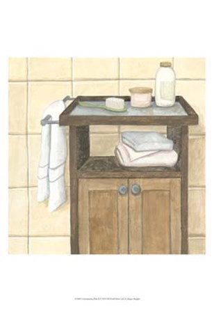 Contemporary Bath II by Megan Meagher art print
