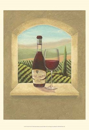 Vineyard Vista I by Joelle McIntyre art print