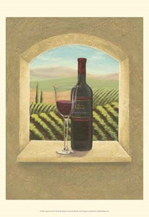 Vineyard Vista II by Joelle McIntyre art print